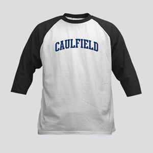 CAULFIELD design (blue) Kids Baseball Jersey