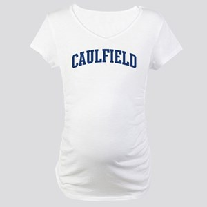 CAULFIELD design (blue) Maternity T-Shirt