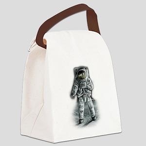 Astronaut Moonwalker Canvas Lunch Bag