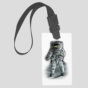 Astronaut Moonwalker Large Luggage Tag