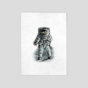 Astronaut Moonwalker 5'x7'Area Rug