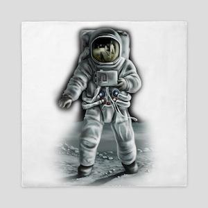 Astronaut Moonwalker Queen Duvet