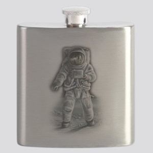 Astronaut Moonwalker Flask