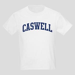 CASWELL design (blue) Kids Light T-Shirt
