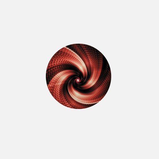Cool Fractal art Mini Button