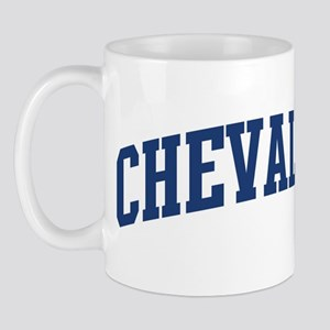 CHEVALIER design (blue) Mug