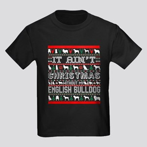 It Aint Christmas Without My English Bulld T-Shirt