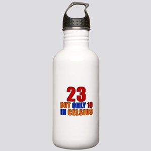 23 But Only 16 In Cels Stainless Water Bottle 1.0L