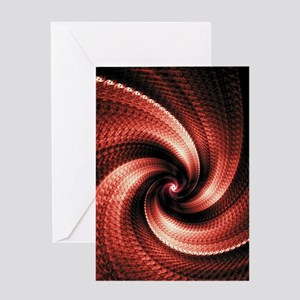 Husk Red Greeting Cards