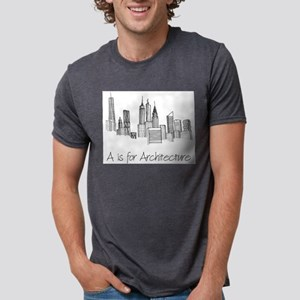 A is for Architecture Skyline T-Shirt