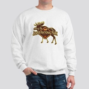Jasper Natl Park Moose Sweatshirt