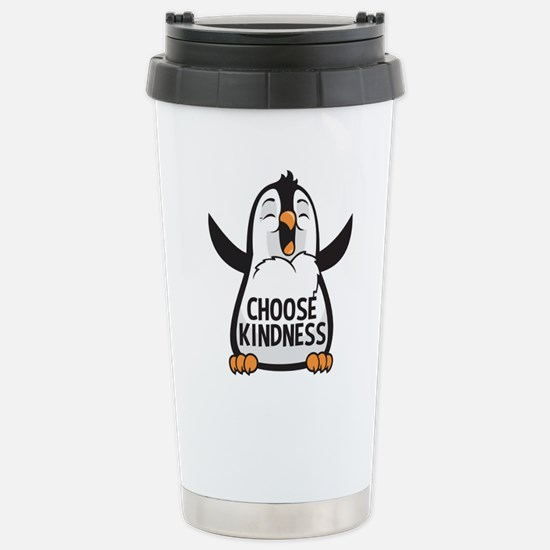 Choose Kind Happy Travel Mug
