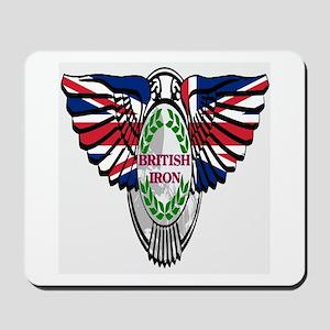 British Iron Motorcycle Mousepad