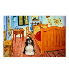 Room/Cocker (Parti) Postcards (Package of 8)