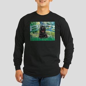Bridge / Black Cocker Spaniel Long Sleeve Dark T-S