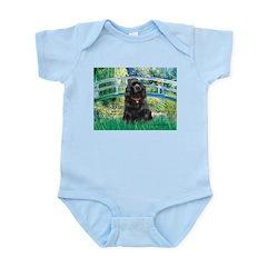 Bridge / Black Cocker Spaniel Infant Bodysuit