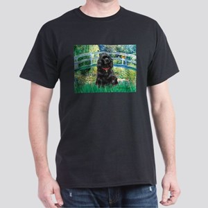 Bridge / Black Cocker Spaniel Dark T-Shirt