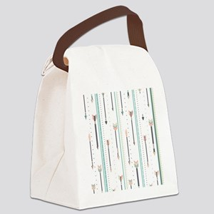 Arrows Canvas Lunch Bag