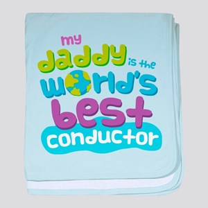 Conductor Gifts for Kids baby blanket