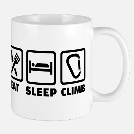 Eat sleep climb Mug