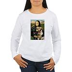 Mona / Labrador Women's Long Sleeve T-Shirt