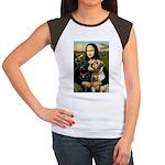 Mona / Labrador Women's Cap Sleeve T-Shirt