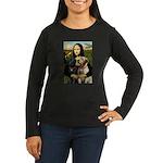 Mona / Labrador Women's Long Sleeve Dark T-Shirt