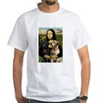 Mona / Labrador White T-Shirt
