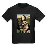 Mona / Labrador Kids Dark T-Shirt