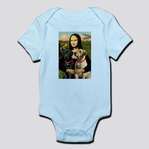 Mona / Labrador Infant Bodysuit