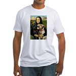 Mona / Labrador Fitted T-Shirt