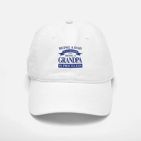 Being a Grandpa is an Honor Baseball Baseball Cap