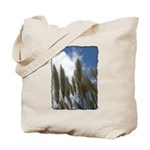 Pampas Grass - Burned Edge Tote Bag