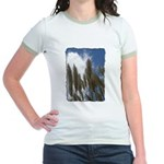 Pampas Grass - Burned Edge Jr. Ringer T-Shirt