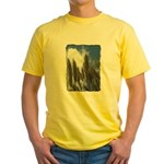 Pampas Grass - Burned Edge Yellow T-Shirt