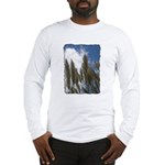 Pampas Grass - Burned Edge Long Sleeve T-Shirt