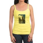 Pampas Grass - Burned Edge Jr. Spaghetti Tank