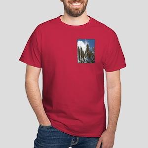Pampas Grass - Burned Edge Dark T-Shirt