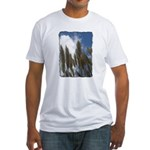 Pampas Grass - Burned Edge Fitted T-Shirt