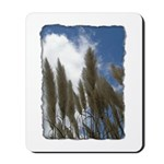Pampas Grass - Burned Edge Mousepad
