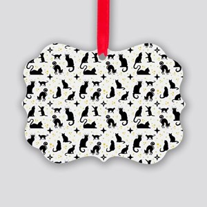 CATS and STARS Ornament