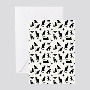 CATS and STARS Greeting Cards
