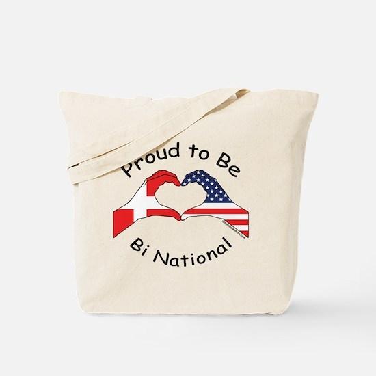 Danish Bi National Tote Bag