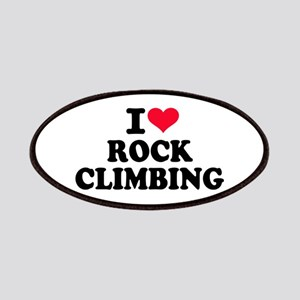 I love rock climbing Patch