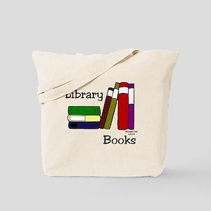 LibraryBooksTote Tote Bag