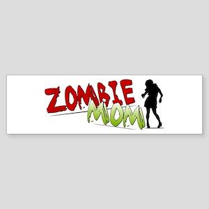 Zombie Mom Bumper Sticker