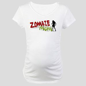Zombie Mom Maternity T-Shirt