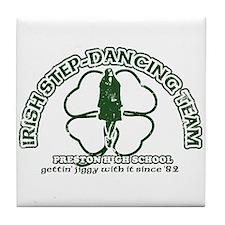 P.H.S. Irish Step-Dancing Tile Coaster