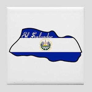 Cool El Salvador Tile Coaster