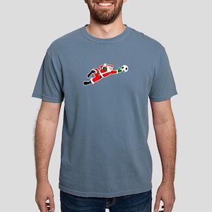 Santa soccer goalie Christmas T-Shirt